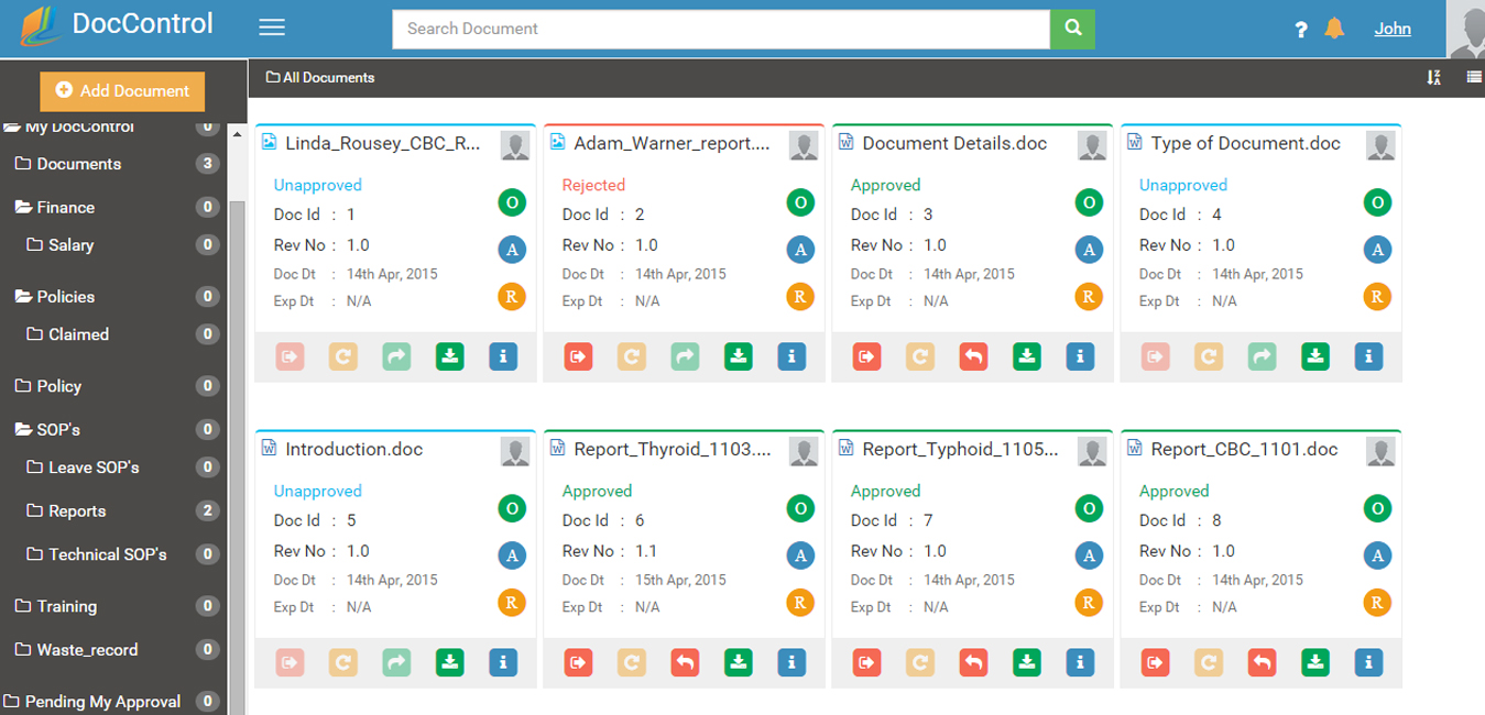 Hipaa Compliant Document Management Software Doccontrol